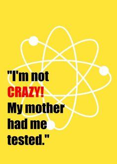 Bazinga! Free Big Bang Theory Printables | One Artsy Mama