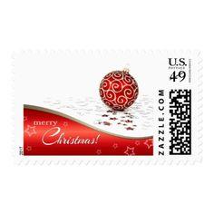 Merry Christmas. Christmas Postage Stamps - merry christmas diy xmas present gift idea family holidays