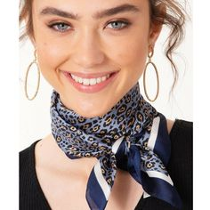 Puuurfect Leopard Print Silk-Like Scarf – Teal In Love Leopard Print Outfits, Leopard Scarf, Ways To Wear A Scarf, How To Wear Scarves, Silk Neck Scarf, Neck Scarves, How To Feel Beautiful, Short Girls, Bun Hairstyles