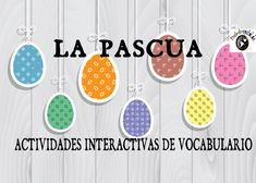 VOCABULARIO DE PASCUA | Profe-de-español.de