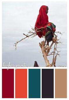Color Palette - Higher point - Bedroom