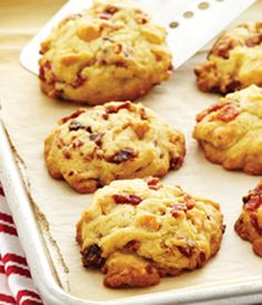 Chewy Bacon Butterscotch Cookies