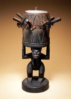 Yoruba Agba / Ogbin Obatala Drum, Nigeria. Fowler Museum, UCLA