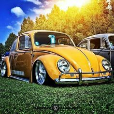 Volkswagen New Beetle is a compact car introduced by Volkswagen in The exterior design of this car is taken from the original Beetle. Beetles Volkswagen, Auto Volkswagen, Car Volkswagen, Vw Camper, Vw Bugs, Yellow Car, Mellow Yellow, Kdf Wagen, Vw Classic