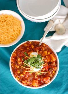 Sweet Potato Chili - A Cedar Spoon