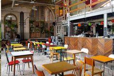 La Recyclerie, Paris Ornano Gare Restaurant