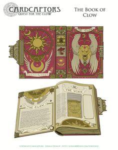 ArtStation - The Book of Clow, Joshua Dunlop Eu quero!