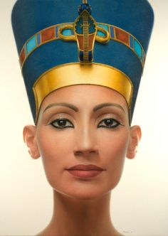 (Nefertiti was my nickname at work...)