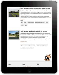 "Help your fellow-golfers to get the best golf experience ever! Submit your own golf course review. Easy and mobile friendly...    All course reviews will be validated before they are visible. We appreciate all possible info :) Required fields are ""Course name"", ""Date played"", ""Course ratings"" and photos!    Click here and get started > http://www.blogmand.dk/golf/submit.asp..."