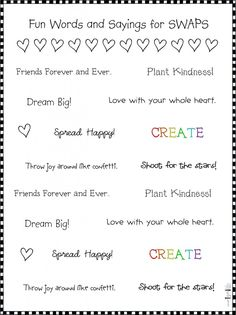 Free Printable for S