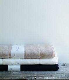 Linen & Cotton Bath Mat