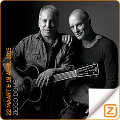 Paul Simon & Sting | 22 maart & 18 april 2015 | Ziggo Dome, Amsterdam