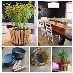 Descubre cómo con elementos sencillos puedes decorar tu hogar.