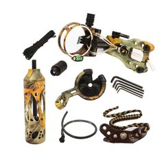 Camo Compound Bow Archery Combo Accessories Bow Kit Stabilizer Sights #Unbranded