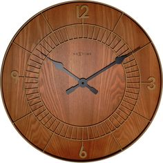 Round Wooden Wall Clock 50cm Available in other shapes!