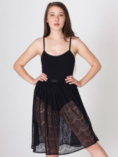 Lace Mid-Length Skirt