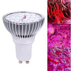 Full Spectrum 10W Plant Grow Light GU10 SMD 5730 24-LED AC85-265V Greenhouse Plants/Vegetables Growing Lamp Light FREE POST #Affiliate