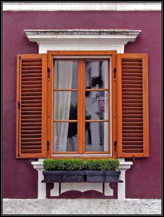 Rust, Austria Juliet Balcony, Balconies, Places Around The World, China Cabinet, Austria, Liquor Cabinet, Rust, Spaces, Furniture