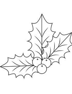 Elegant Christmas Holly Coloring Christmas Holly Coloring - This Elegant Christmas Holly Coloring gallery was upload on September, 27 2019 by admin. Here latest Christmas Holly Colori. Christmas Leaves, Christmas Colors, Christmas Art, Christmas Decorations, Holly Christmas, Elegant Christmas, Christmas Pictures, Free Printable Coloring Pages, Coloring For Kids