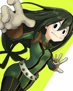Tsuyu asui my hero academia tsuyu, buko no hero academia, tsu Tsuyu Asui, My Hero Academia Tsuyu, Boko No Hero Academia, My Hero Academia Manga, Anime Bebe, M Anime, Anime Art, Hero Academia Characters, Anime Characters