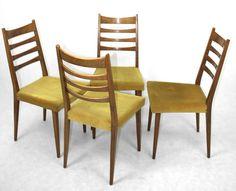 Komplet 4 Krzeseł mod. 1048 - Polski Design Lat 70-tych