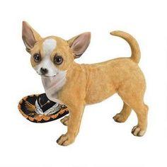 Fernando the Chihuahua Dog Statue