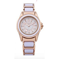 Lipsy Ladies Bi Colour Rose Gold Tone Watch
