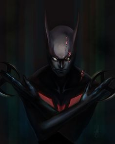 I'm so happy Chris Nolan is making a Batman Beyond movie! I saw Dark Knight Rises, and considering The Dark Knight's story is done, I can't wait to see . The Batman Reborn Comic Book Heroes, Comic Books Art, Comic Art, Book Art, Bob Kane, Nightwing, Batgirl, Gi Joe, Alter Ego