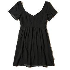 Hollister Chiffon Babydoll Dress