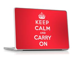 """Keep Calm by GelaSkins for the 13"""" Apple Unibody Laptops (Pro, Air, MacBook)"""