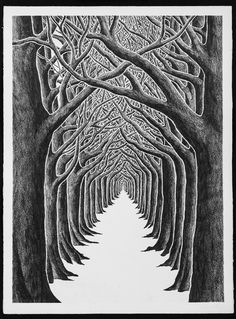 View The End of Humor by Stanley Donwood on artnet. Browse more artworks Stanley Donwood from TAG Fine Arts. Gravure Photo, Linocut Prints, Art Prints, Block Prints, Lino Art, Illustration Art, Illustrations, Engraving Illustration, Linoprint