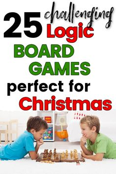 25 Logic Board Games for Christmas