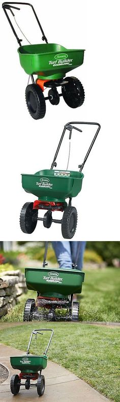 Seeders and Spreaders 118869: Scotts Spreader Fertilizer Seed Grass Lawn Feed Builder Turf Edgeguard Broadcast -> BUY IT NOW ONLY: $31.99 on eBay!