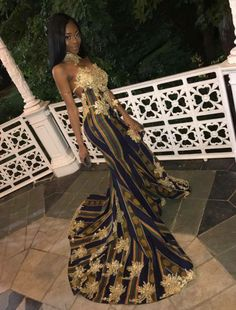 African Fashion Is Hot African Prom Dresses, African Fashion Dresses, African Dress, African Print Dress Prom, African Style, African Beauty, African Women, Prom Outfits, Prom Looks