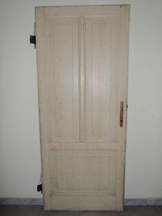 Porta antica dell'800 in larice cm197x82 con 3 bugnature -Una di 2 porte perfett | eBay