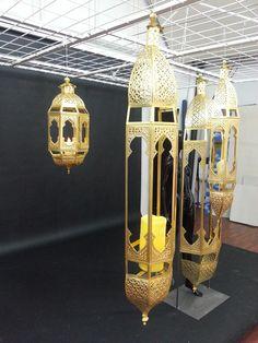 giant Ramadan lanterns Barthelmess Germany