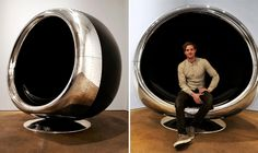 This Epic Chair Is Made from an Old Boeing 737 Engine. For the Supervillains out there.
