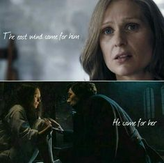 """""""The east wind came for him; he came for her."""" Sherlock and Eurus (made with LiteCollage)"""
