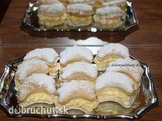 Fotorecept: Pudingové mesiačiky Christmas Baking, Christmas Cookies, No Bake Cake, Sweet Recipes, French Toast, Muffin, Treats, Cooking, Breakfast