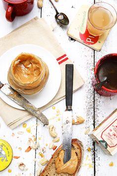 Saveurs Végétales: ► Maple butter {beurre de pomme, cannelle, cacahuète & sirop d'érable}