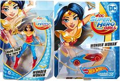 "[Poison Ivy costumes] Hot Wheels DC Comics Super Hero Girls Character Car - Wonder Woman   6"" Action Figure with Magic Lasso ** Check out the image by visiting the link. (This is an affiliate link) #PoisonIvycostumes"