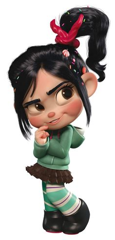 Vanellope von Schweetz (Wreck-it Ralph) Disney Animation, Disney Pixar, Disney E Dreamworks, Disney Art, Disney Movies, Cartoon Cartoon, Cartoon Images, Ralph Disney, Vanellope Cosplay