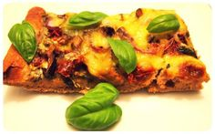 Pizza bianca mit Dinkelvollkorn-Teig - VeganBlatt