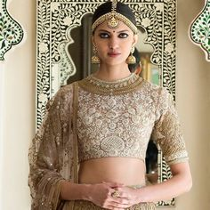 Indian Fashion — The Udaipur Collection by Sabyasachi Mukherjee India Fashion, Ethnic Fashion, Asian Fashion, Women's Fashion, Bridal Fashion, Fasion, Pakistani Bridal, Indian Bridal, Indian Dresses