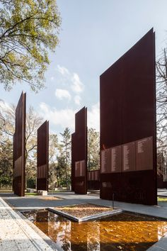 Memorial to Victims of Violence in Mexico, by Gaeta Springall Architects Taken in Year: 2015. Photo credit: Sandra Pereznieto.