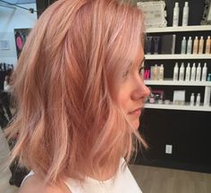 soffs blog: Trend: Rose Gold Hair
