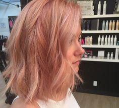 Trend: Rose Gold Hair