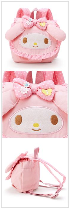My Melody Backpack for kids. If you wanna buy, contact: info@route19-store.com