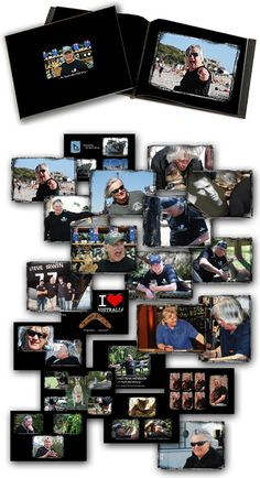 Richard Dean Anderson Australia Photo Memory Book (available Autographed or not). Profits benefit Sea Shepherd Conservation society