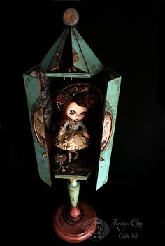 The Alice room by Rebeca Cano ~ Cookie dolls, https://www.facebook.com/CookieDolls
